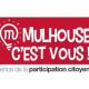 Logoe de l'agence de la participation citoyenne de Mulhouse