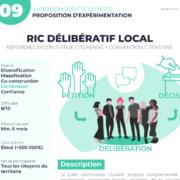 Schéma RIC Délibératif local