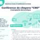 Visuel Conférences de citoyens CRD